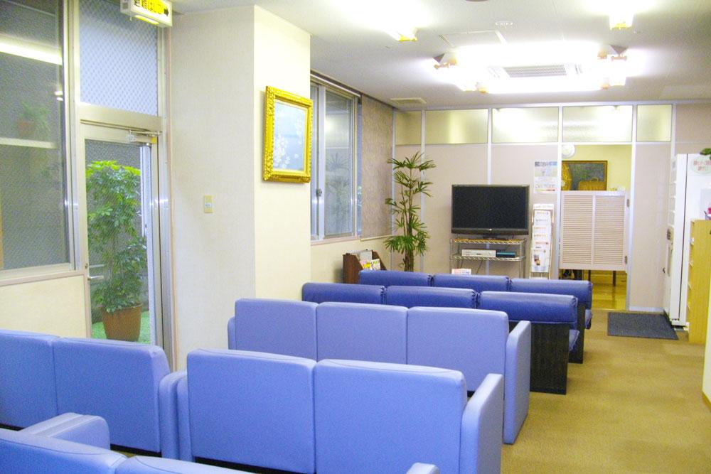 愛和健診センターの待合室